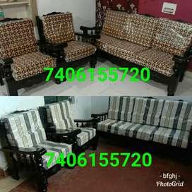 amazing quality new mysore teakwood sofa set