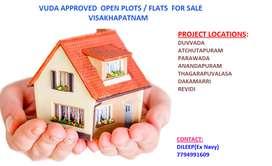 Vuda approved Layout Low Price at Revidi Near Thagarapuvalasaasa
