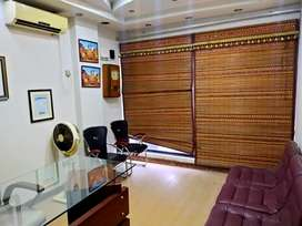 F-11 Markaz Fully furnished office separate one room . Shearing bass