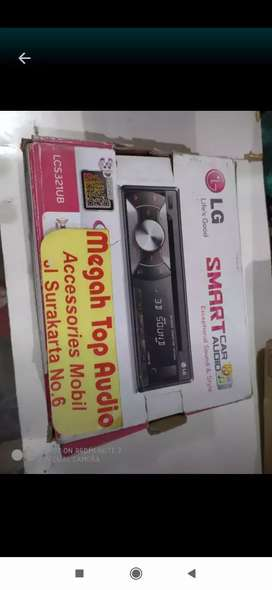 Tape singledisc cd mp3 usb LG ( suara hall)