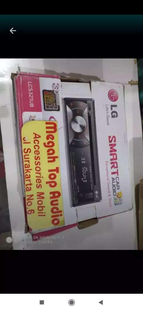 Tape singledisc cd mp3 usb LG ( suara hall) 0