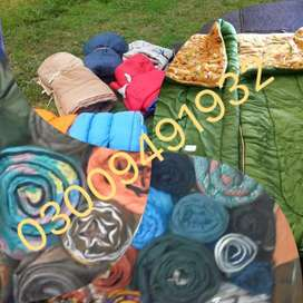 Used Imported Sleeping Bags Available