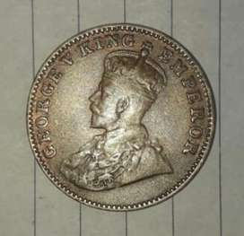 Very rare coin in brithish india 1937