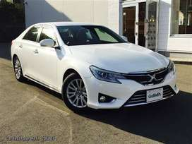 Finance Toyota Mark X On Just Single Call.