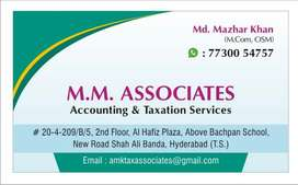 GST, INCOME TAX FILING AND ACCOUNTING