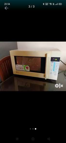 LG grill 25 lit microwave in good working condition