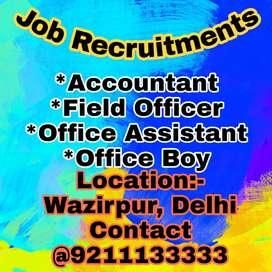 JOB REQUIREMENTS