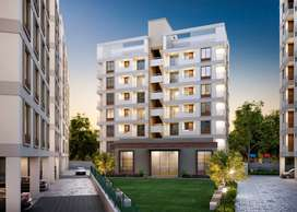 2bhk Terrace Flat for sale # Vasna Bhayli Road # Shyamal Park View