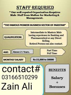 We required staff urgent basis for limited seats