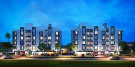 2 BHK Apartment for Sale in G Platinum at Vasana-Bhayli Road, Vadodara