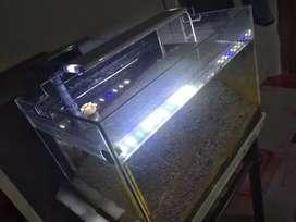 Tank aquarium 40x27x27