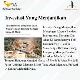 Kavling Harga 2,25Juta/m2  Dekat Tol Kertajati Cocok Untuk Investasi