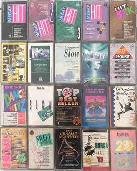 Jual Cassette (Kaset Pita) Kompilasi kondisi Ok