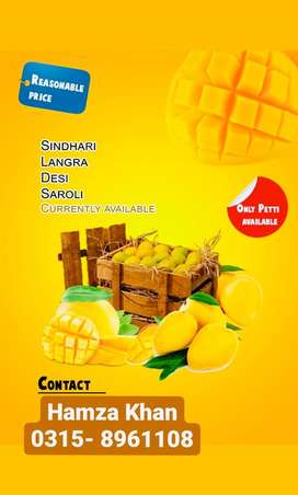 Mangoes petti availables