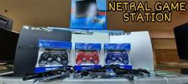 PS3 SLIM 120GB + 2 Stick Fullgame