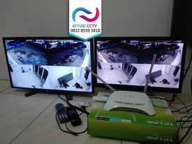 PAKET Kamera CCTV HILOOK 2MP 2 thn GRS Bisa Online HP Gratis Survey