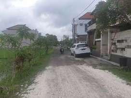 Tanah disewakan / dikontrakan di Renon Kota Denpasar , dekat sanur