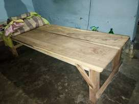 6 month old single wood bed15001
