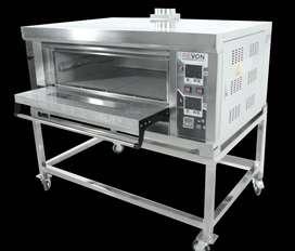 Oven Gas Roti Dan Kue Cepat Matang Dengan Sistem Otomatis