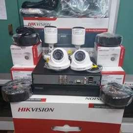TERMURAH Cctv HIKVISION,SPC,AHD,DAHUA DVR 4CH,HD 500GB HASIL MANTAP.