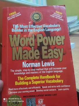 Best vocabulary book   -- Word made power easy