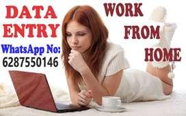 data entry job vacancy available