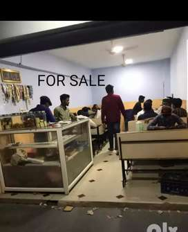 shop for sale with hotel furniture 256' sqft,
