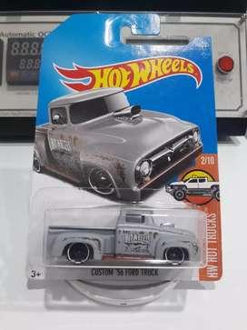 Hotwheels hot wheels custom 56 ford Truck Grey