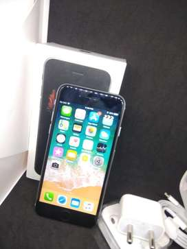 I PHONE 6S 64GB GREY COLOUR WITH 2MONTHS WARRANTY