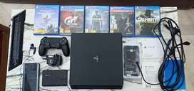 PS4 !! NEW !! + 5 DVD + STAND + CONVERTER