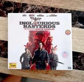 VCD INGLOURIOUS BASTERDS (ORIGINAL)  KONDISI SEGEL