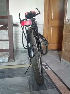 A brand new Bicycle of zoom brand in black colour