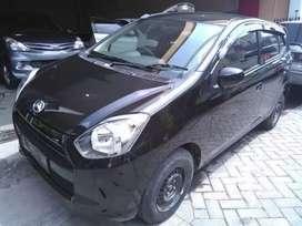 Daihatsu AYLA black 2014 mulus terawat kondisi bagus.