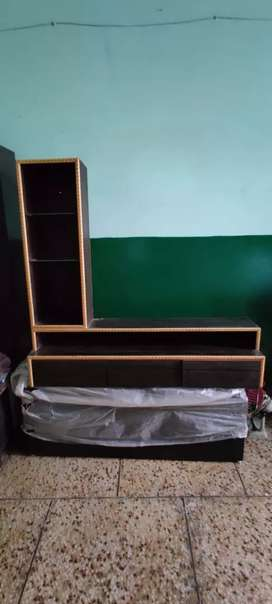 Brand new glass shelf TV Cabinet