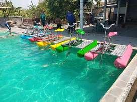 Jual sepeda air odong odong kereta siap usaha wisata air M6