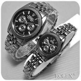 Jam Tangan Couple Rolex Rantai