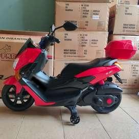 Motor Mainan NMAX Aki / Motor Mainan Bisa Dinaiki / PMB M588 Original