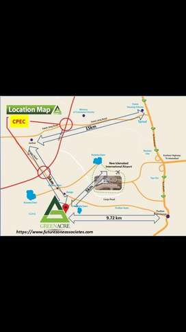 Green Acre Housing Society near New Aiprort Islamabad