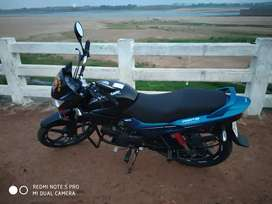 Sell my hero glamour 1year bike with good condition and colour