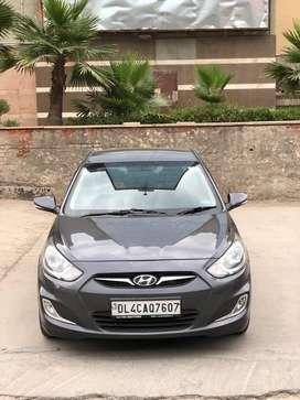 Hyundai Verna Fluidic CRDi 1.6 EX AT, 2013, Diesel
