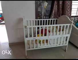 Firstcry Bed for kids with bedding