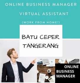LOWONGAN KERJA > ONLINE BUSINESS MANAGER AREA BATU CEPER TANGERANG