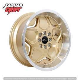 Velg Mobil HSR R16 MYTH04 Ring 16 Lebar 7/8 Pcd 4X100 & 4x114,3 Gold