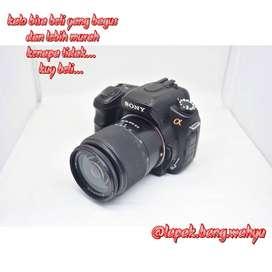 Kamera Sony A200 Mulus Murah Saudara A3500 A6000 A6400 A5000 A57 A7