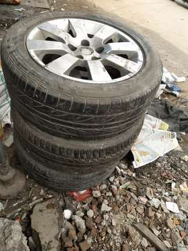3 tyres good condition
