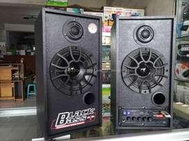 Speaker Aktif / Salon Aktif Subwoofer DAT Bluetooth, Flashdisk, Radio
