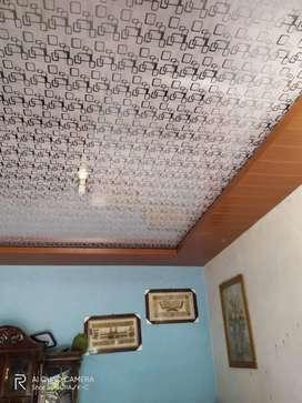 Plafond PVC terpasang termurah