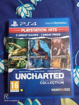 Unchartered game remastered for PS4 includes ( Unchartered 1 2 & 3