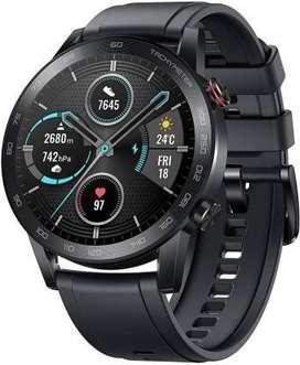 NEW Honor Magic Watch 2 (46mm) Smartwatch  (Black Strap, Regular)