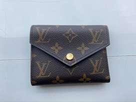 Dijual LV Victorine Wallet Monogram in Brown Original